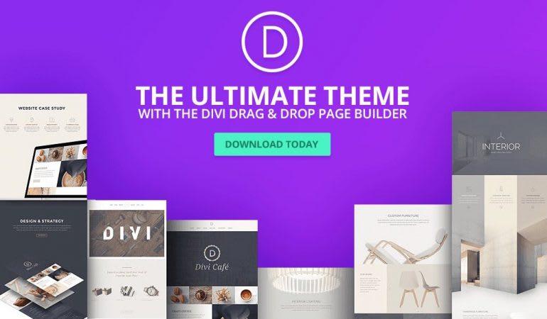 DIVI Theme by Elegantthemes